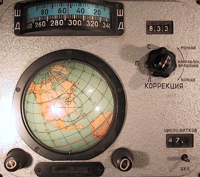 Voskhod navigation instrument