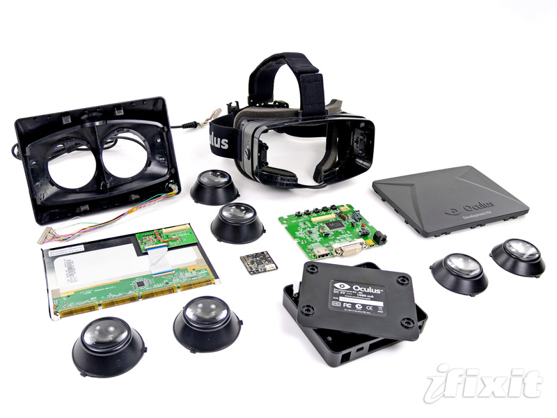Oculus Rift teardown (iFixit)