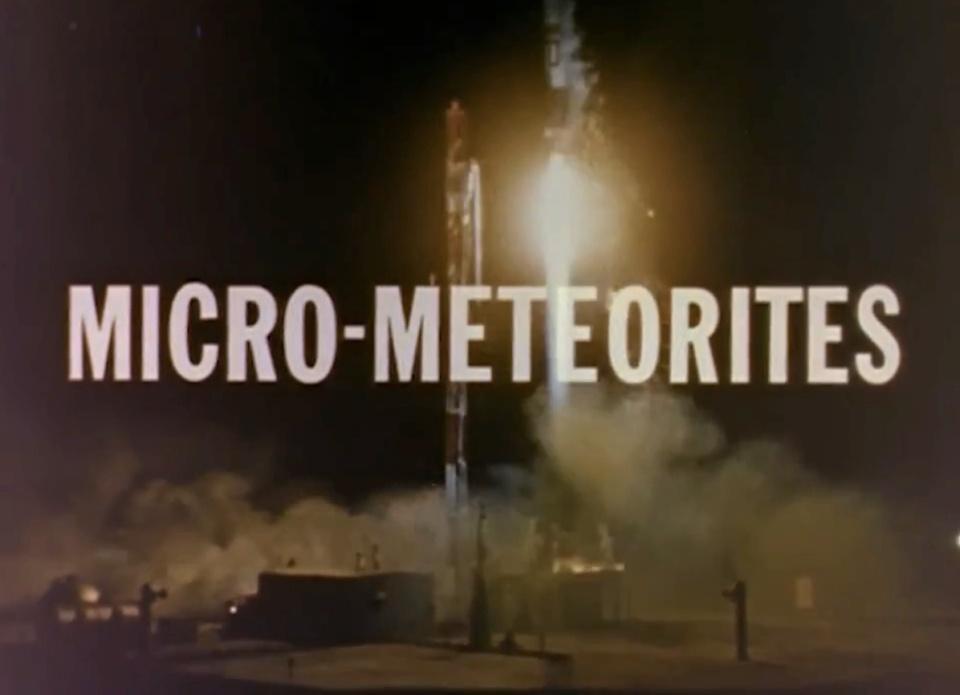 Micro meteorites